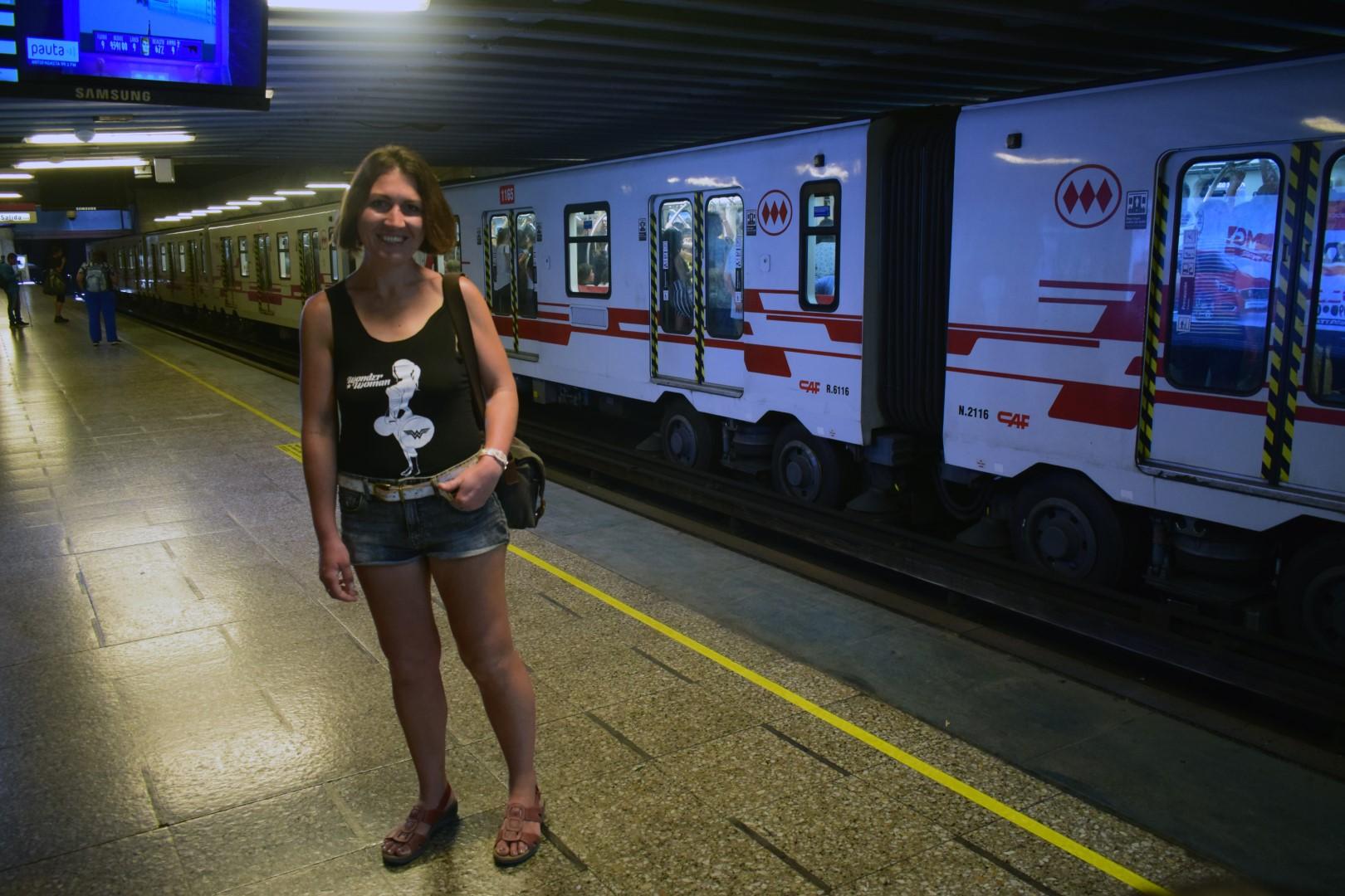 Santiago subway, Unión Latino Americana