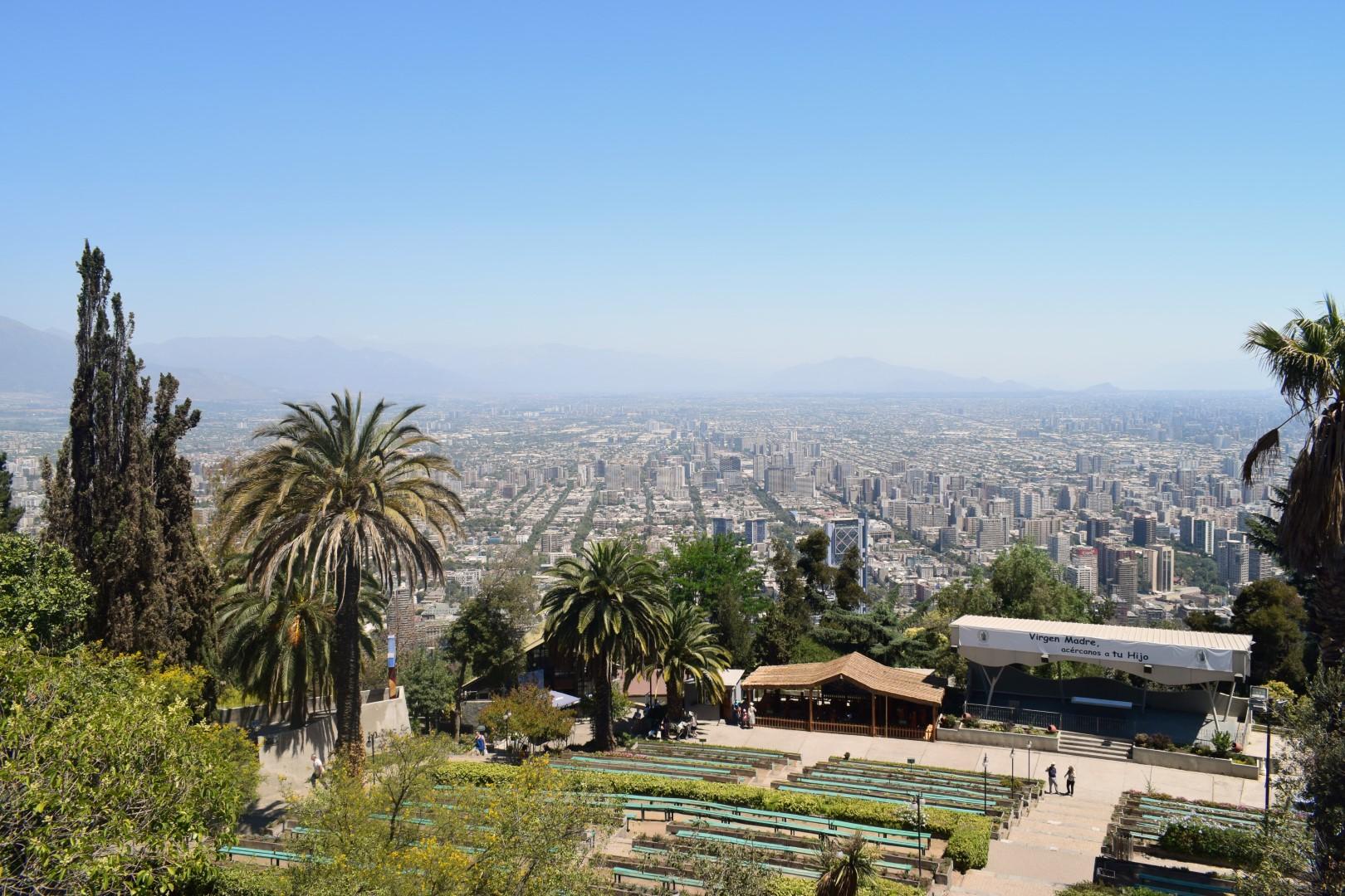 Cumbre del Cerro San Cristóbal, Santiago
