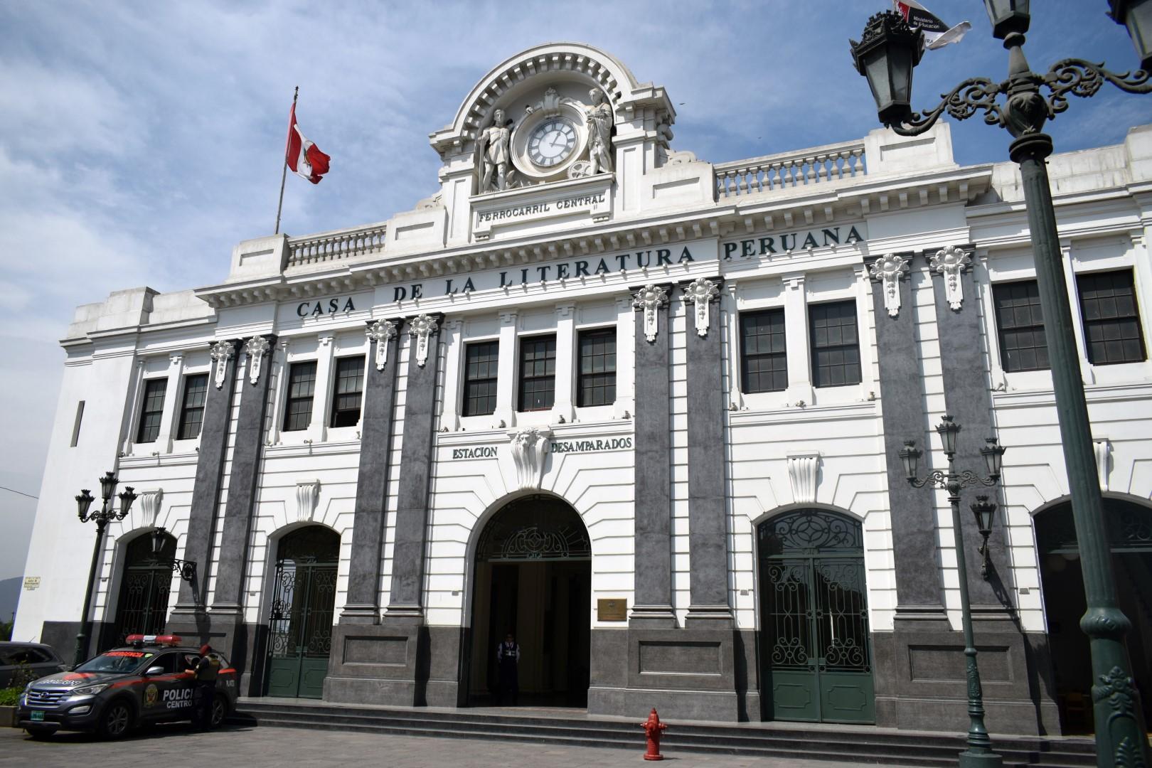 Casa de la Literatura Peruana, Jirón Ancash 207, Cercado de Lima