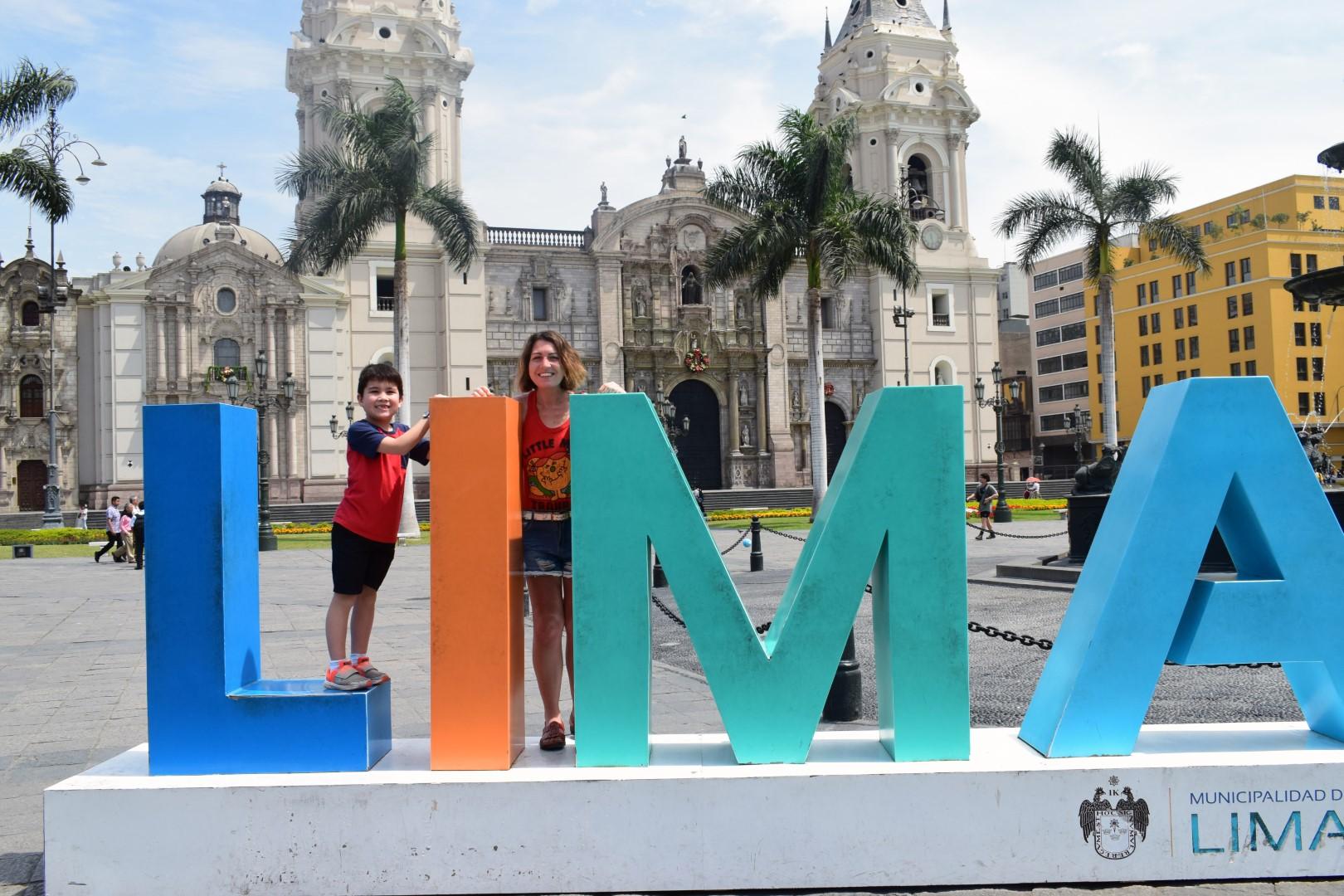 Plaza De Armas De Lima, Centro histórico de Lima