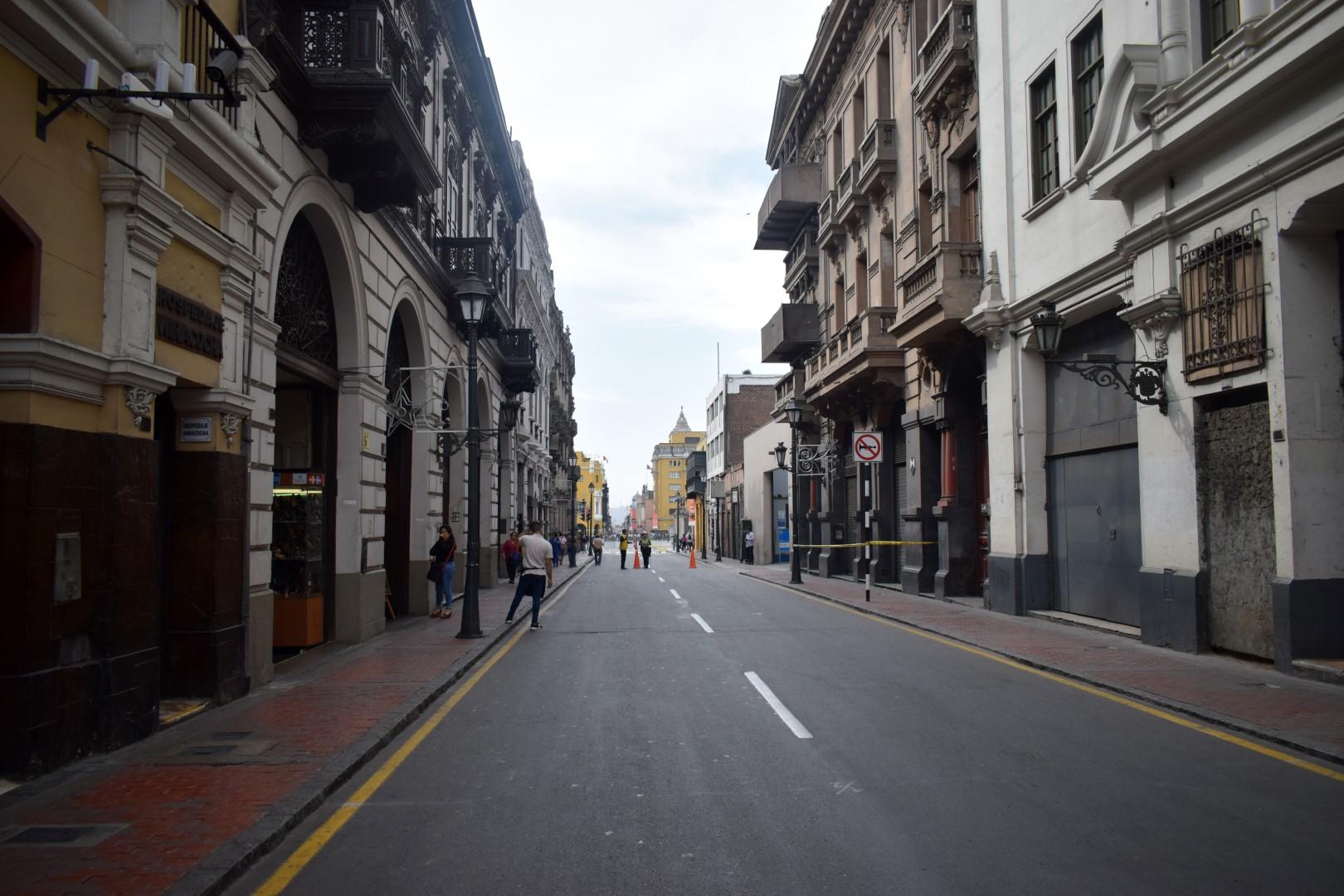 Jirón Junín, Cercado de Lima
