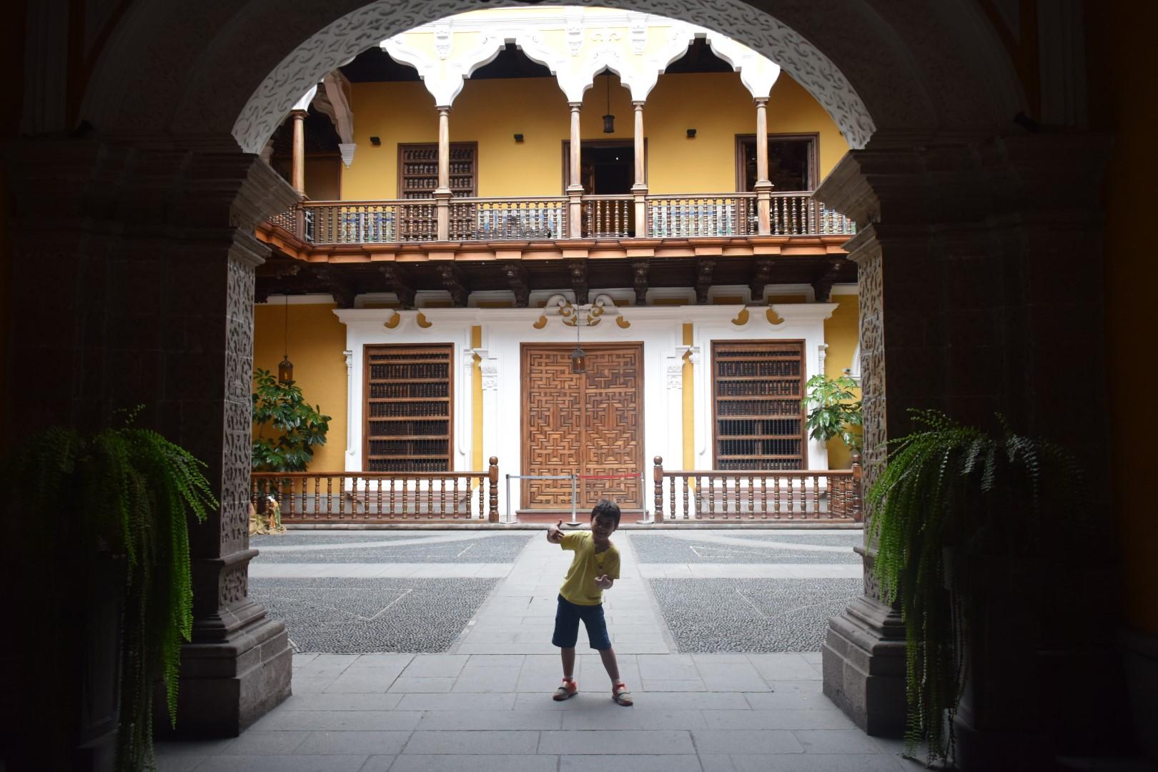 Palacio Torre Tagle, Jirón Ucayali 363, Cercado de Lima