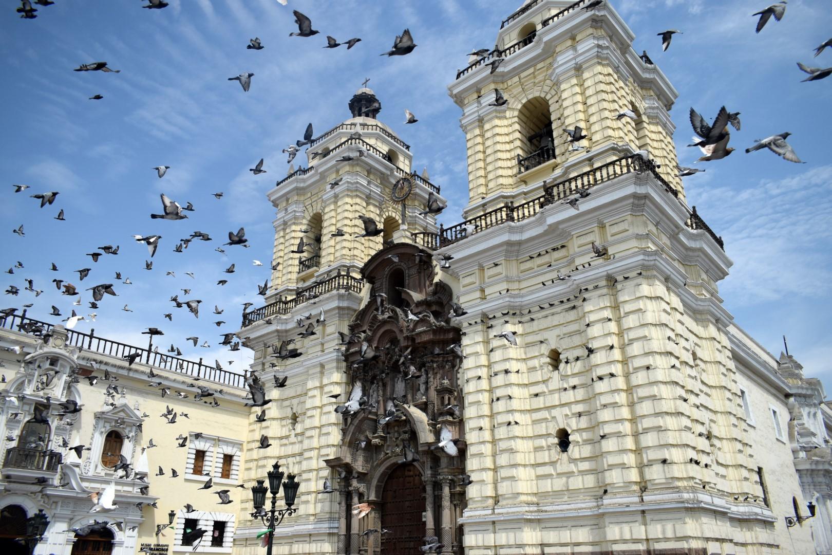 Catedral de Lima, Centro histórico de Lima