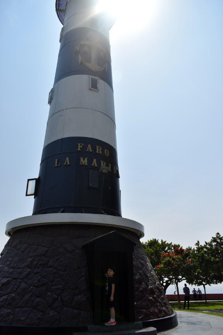 Faro de La Marina en Miraflores