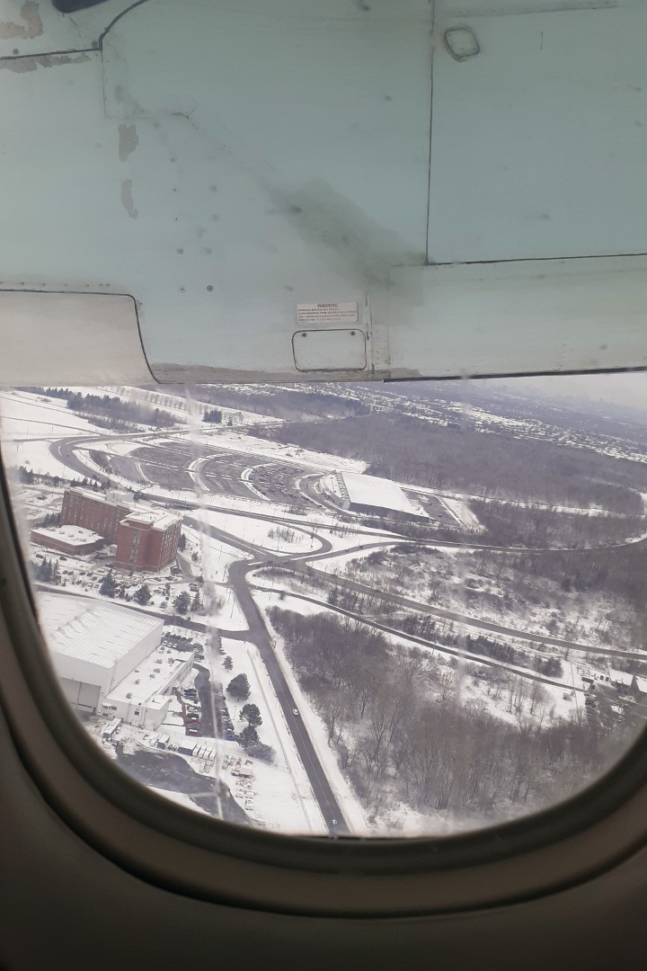 Taking off in Ottawa