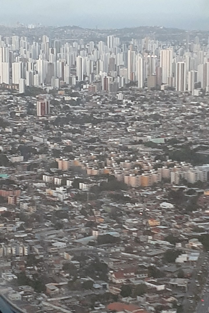 Landing in Recife