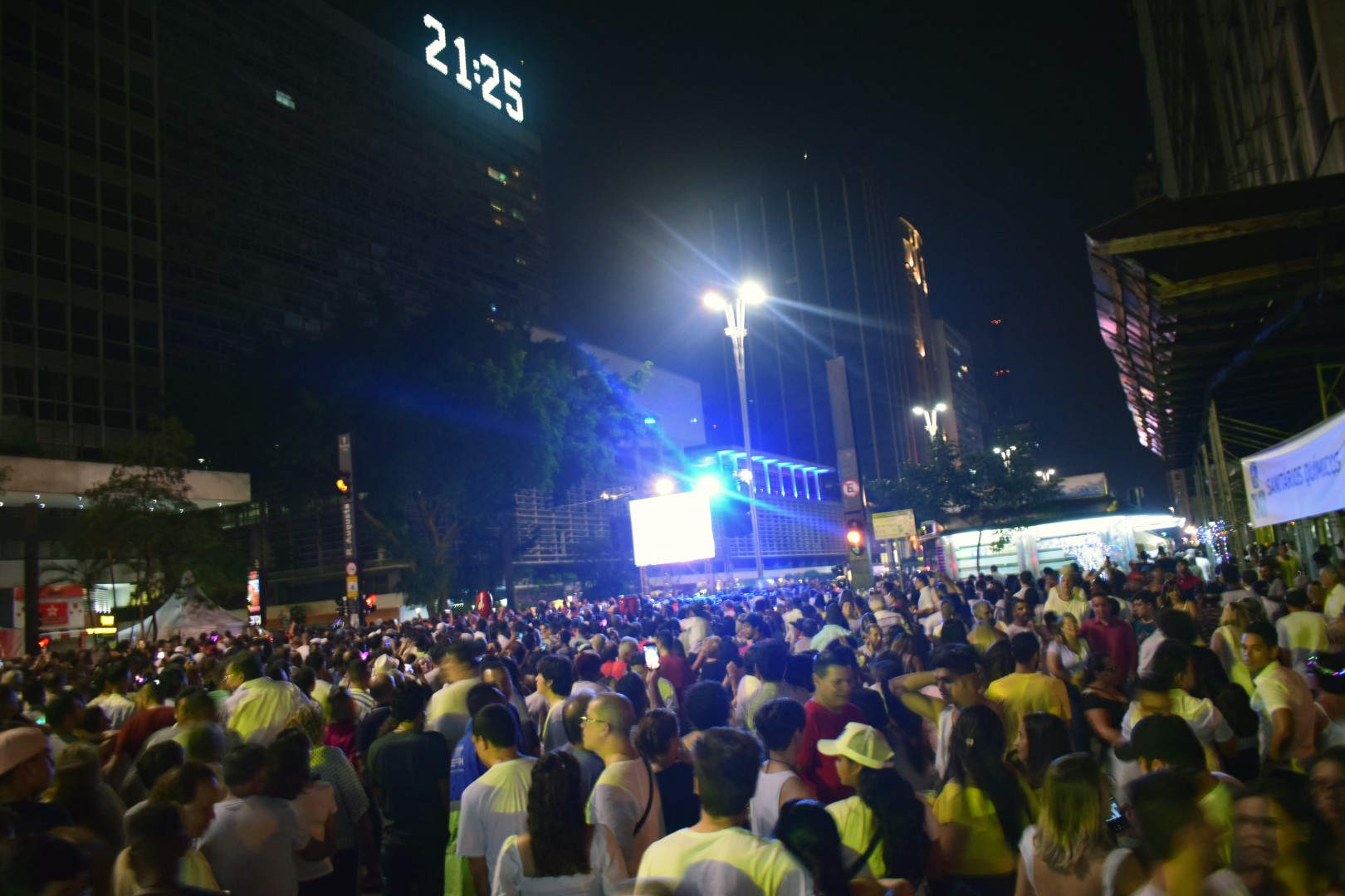 Réveillon 2020 in São Paulo, Avenida Paulista