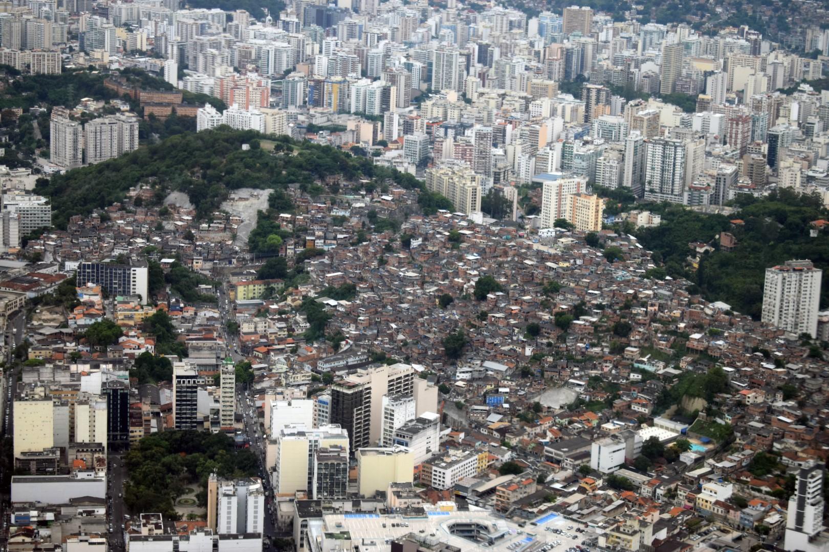 Flying above Rio de Janeiro