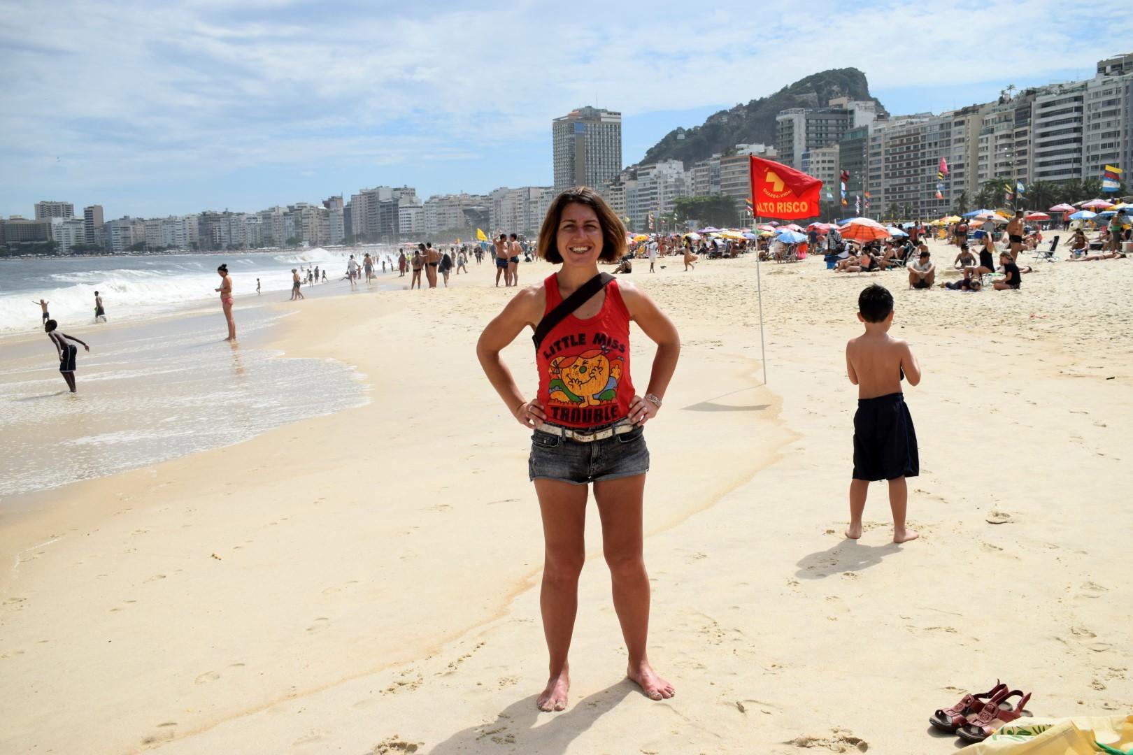 Praia de Copacabana, posto 3, Rio de Janeiro