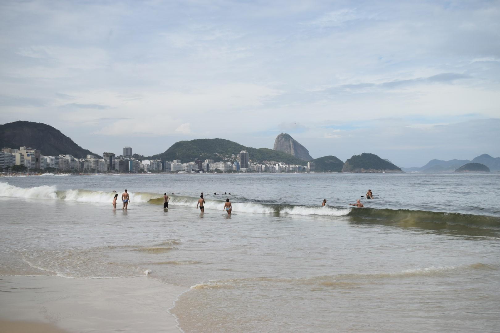 Praia de Copacabana, posto 5, Rio de Janeiro