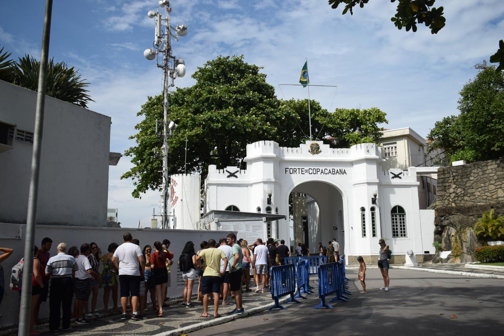 Forte de Copacabana, Praça Coronel Eugênio Franco, 1 Posto 6, Copacabana, Rio de Janeiro