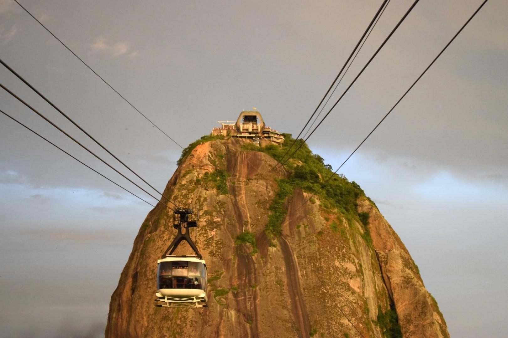 Bondinho to Pão de Açúcar, Rio de Janeiro
