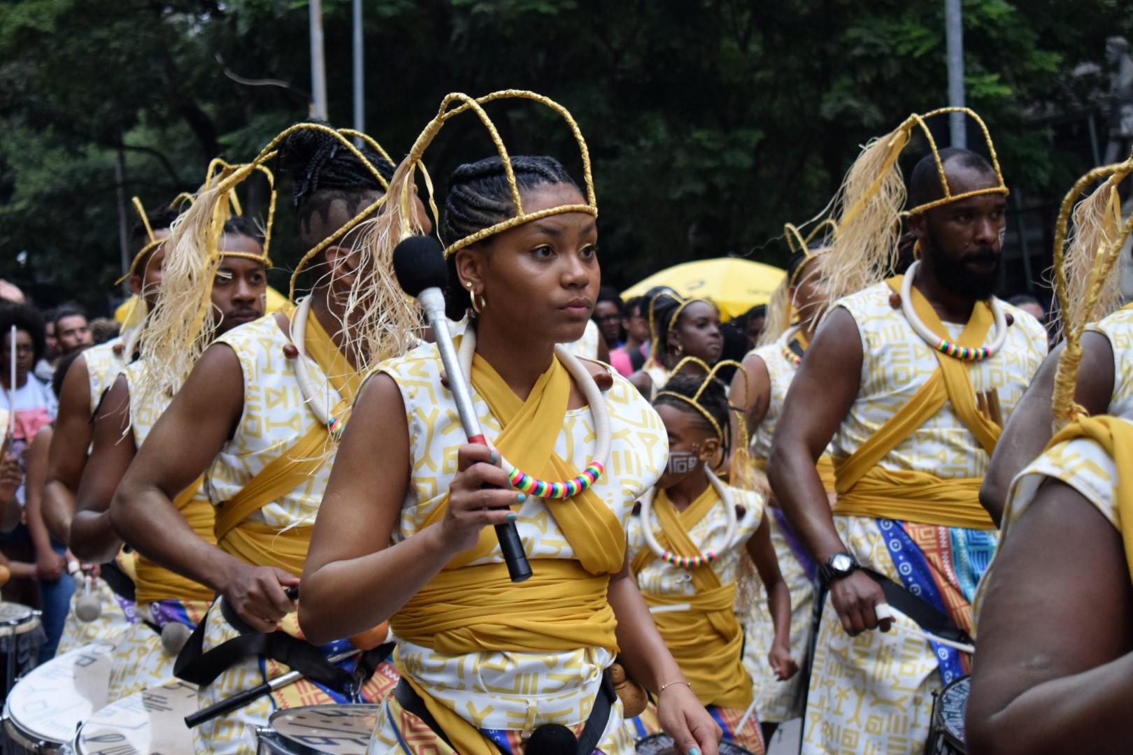 Bloco Preto Zumbiido Afropercussivo, Centro, São Paulo