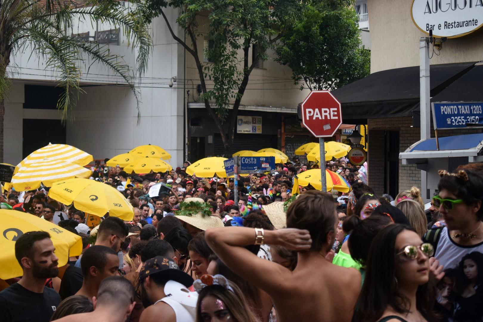 Bloco Sai, Hétero!, rua Augusta, São Paulo