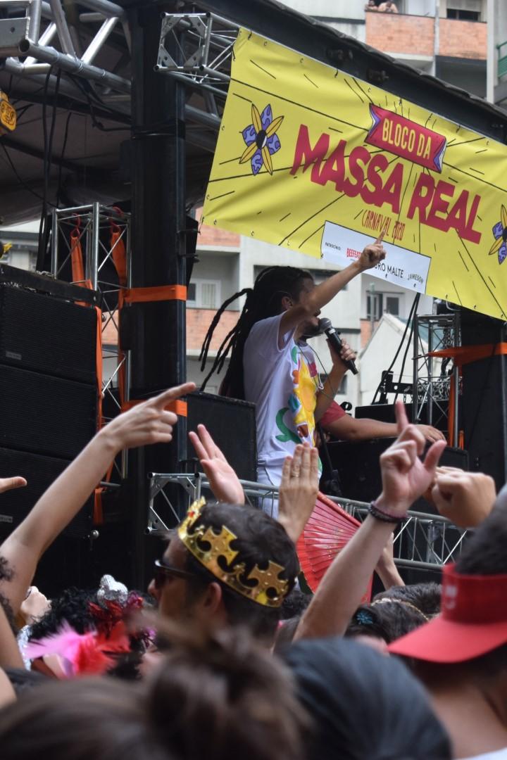 Bloco da Massa Real, Largo do Paissandu, Centro, São Paulo