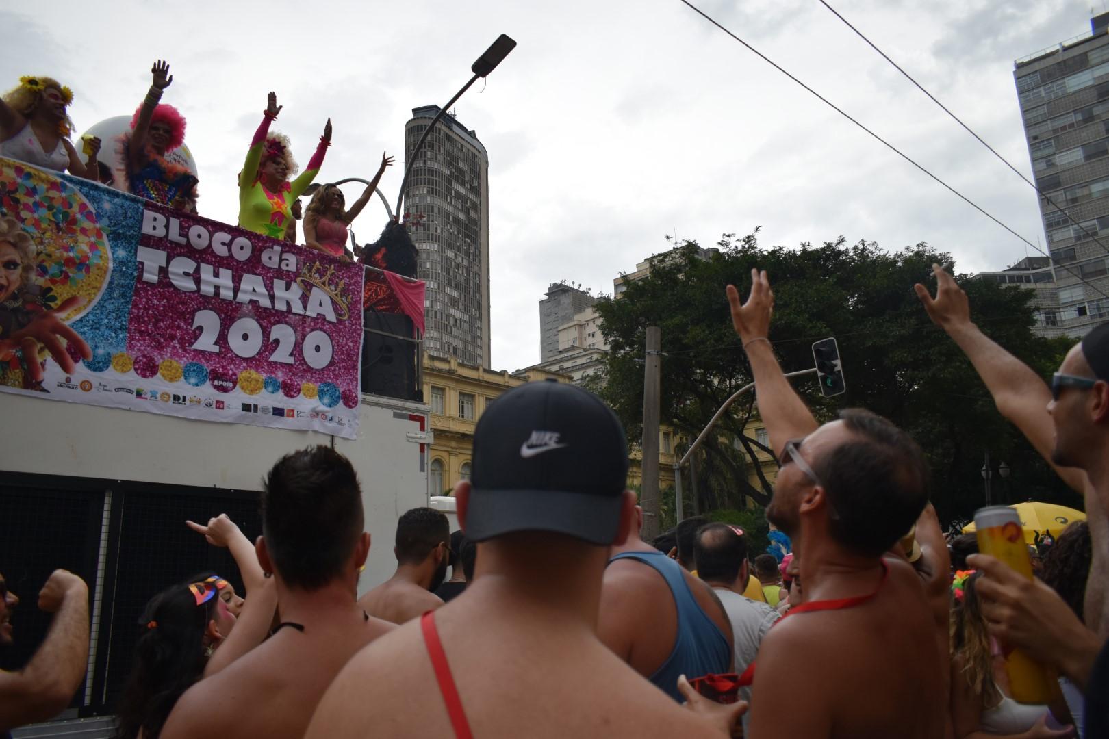 Bloco da Tchaka, Centro, São Paulo