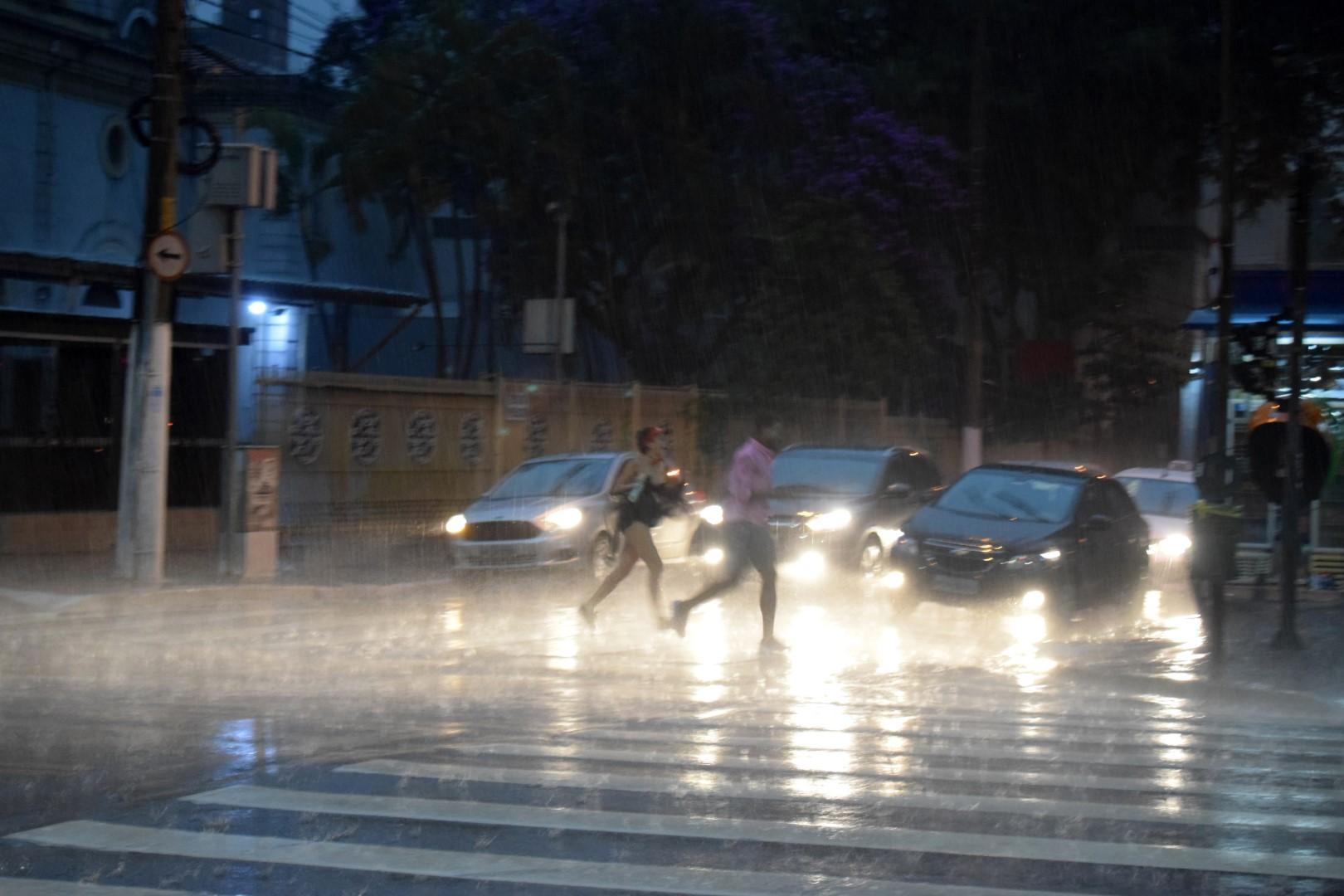 The 5 p.m. downpour, Brigadeiro, São Paulo