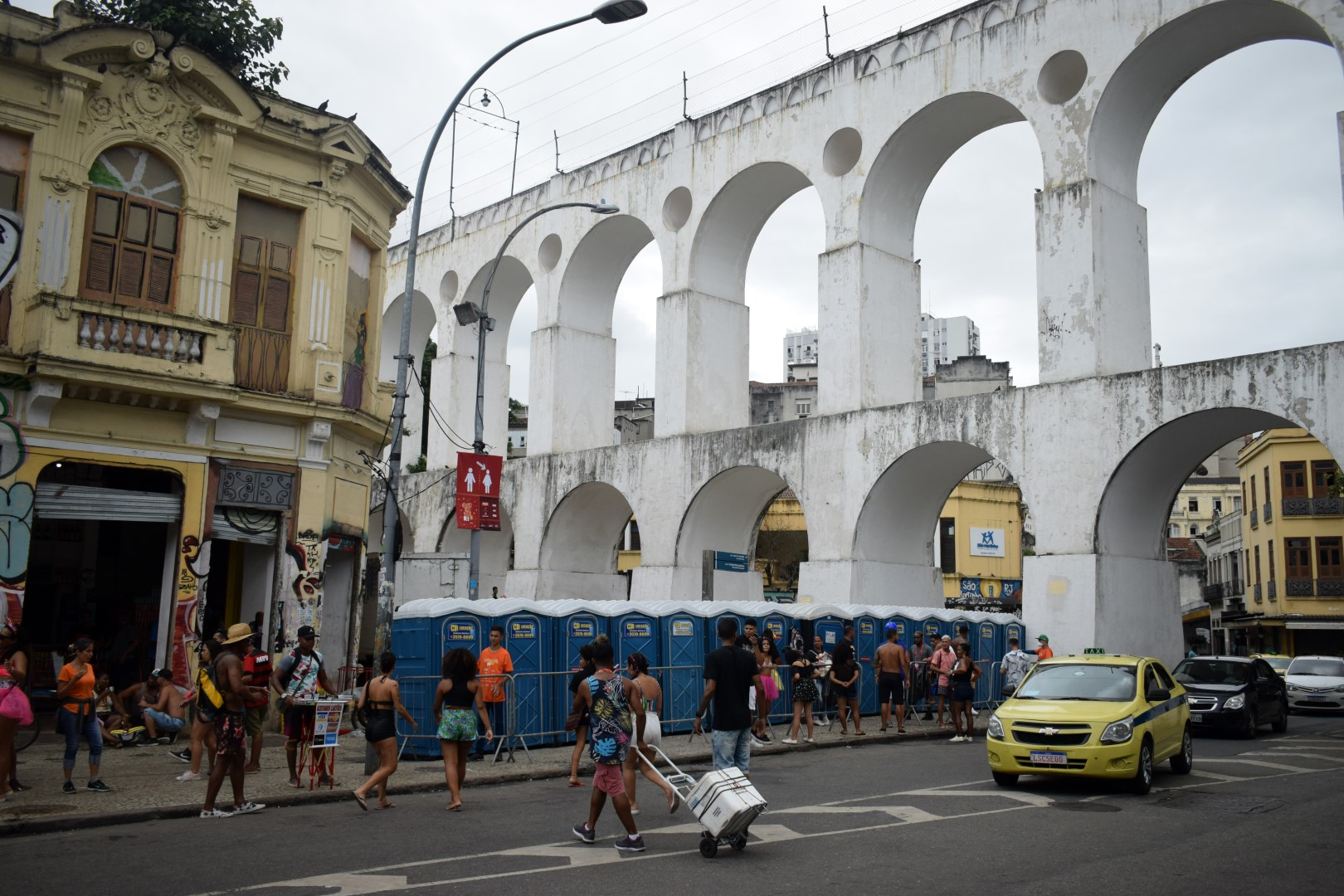 Arcos da Lapa, Av. República do Paraguai, Centro, Rio de Janeiro