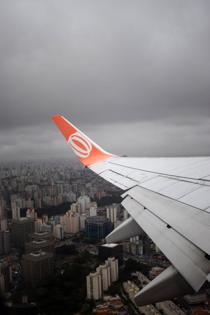 São Paulo to Rio de Janeiro, taking off at Congonhas-São Paulo Airport