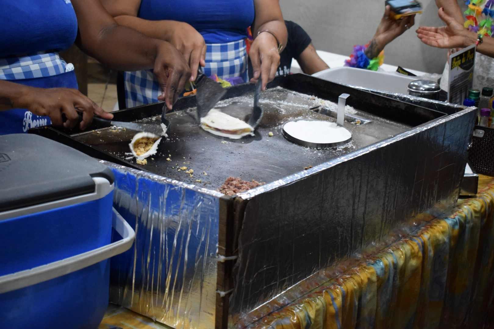 Tapioca stand, Rio Vermelho, Salvador