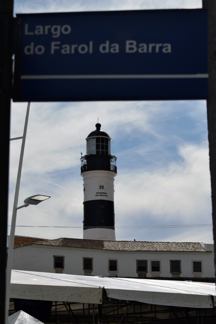 Farol da Barra, Barra