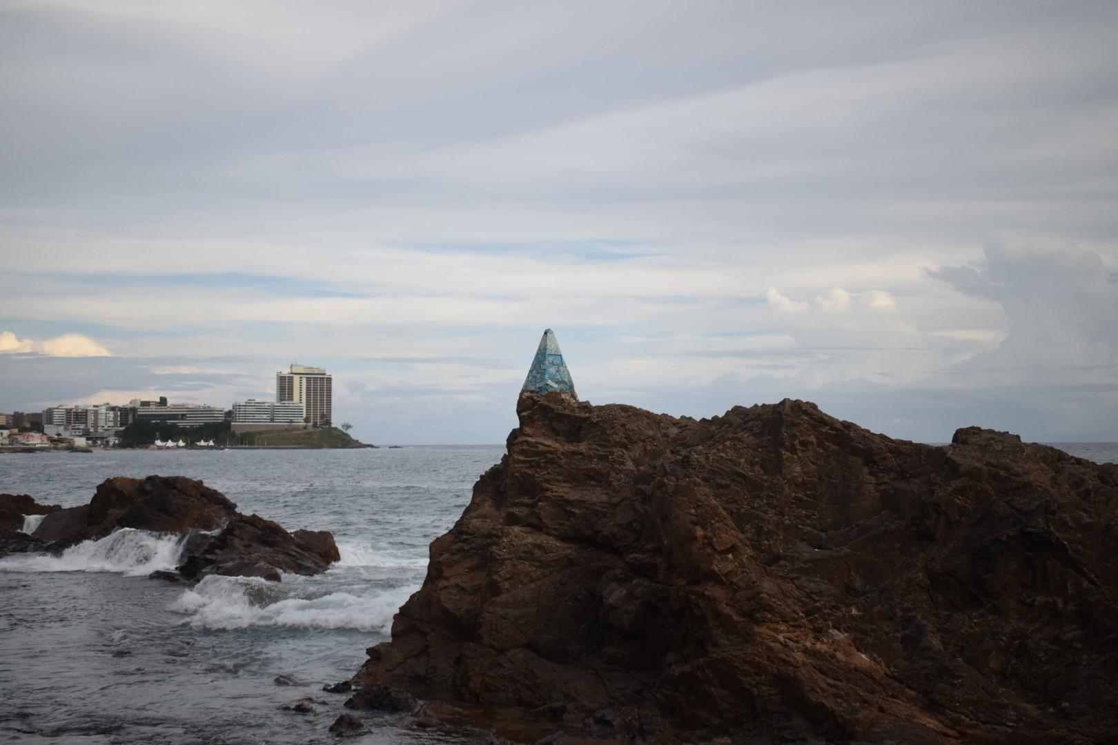 Pedra da Sereia, Ondina, on the way to Rio Vermelho, Salvador