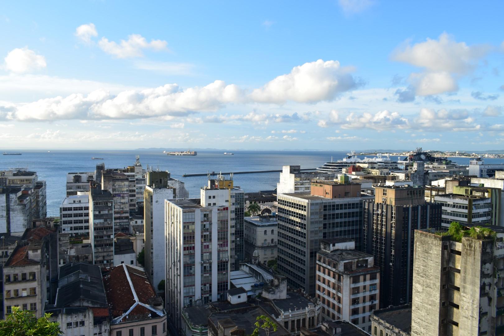Cidade Baixa from Praça Tomé de Souza, Centro, Salvador