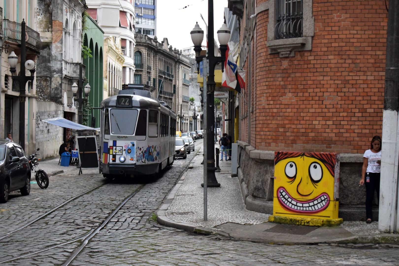 Centro, Santos