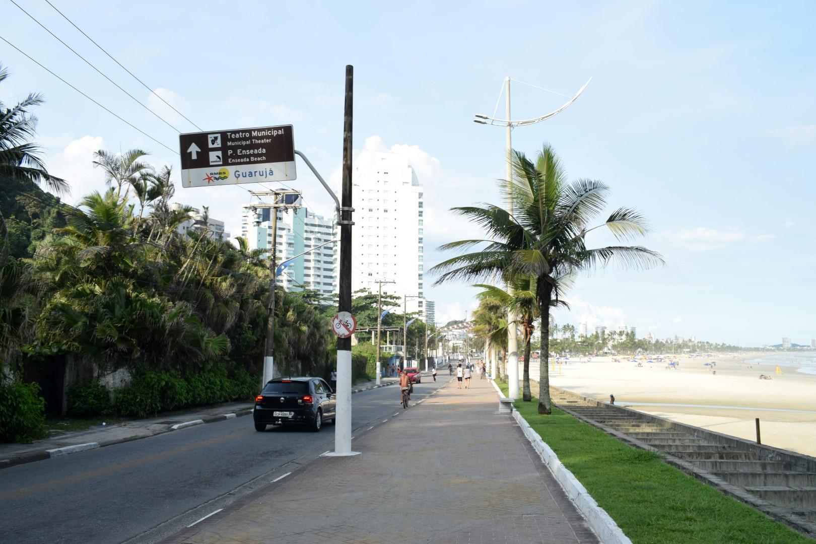 Av. Miguel Estefno, Praia da Enseada, Guarujá