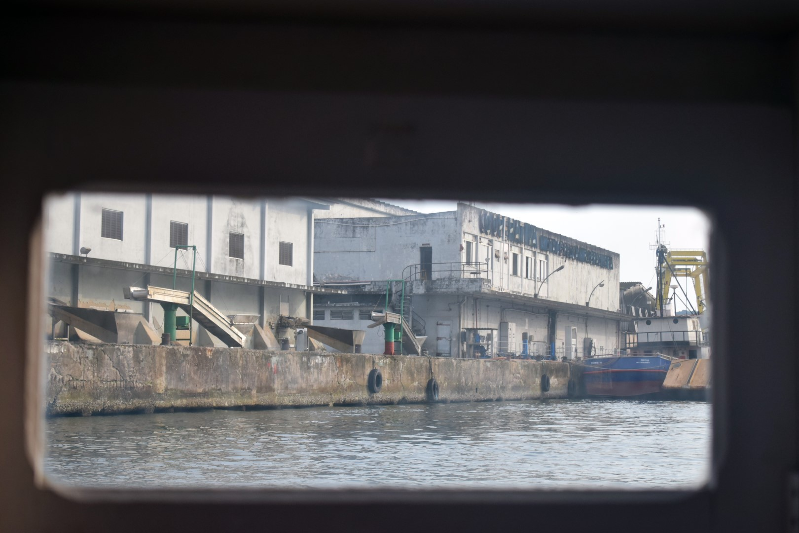 Ponta da Praia, Santos, Barges Santos Guaruja