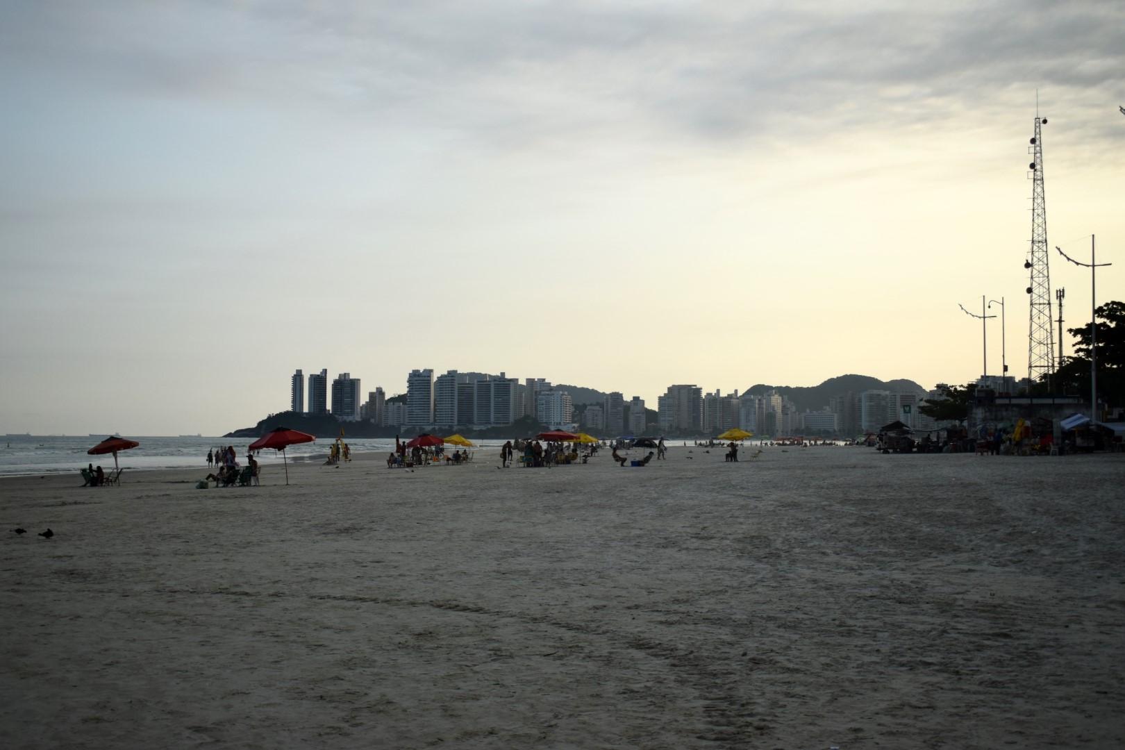 Praia das Pitangueiras Guarujá