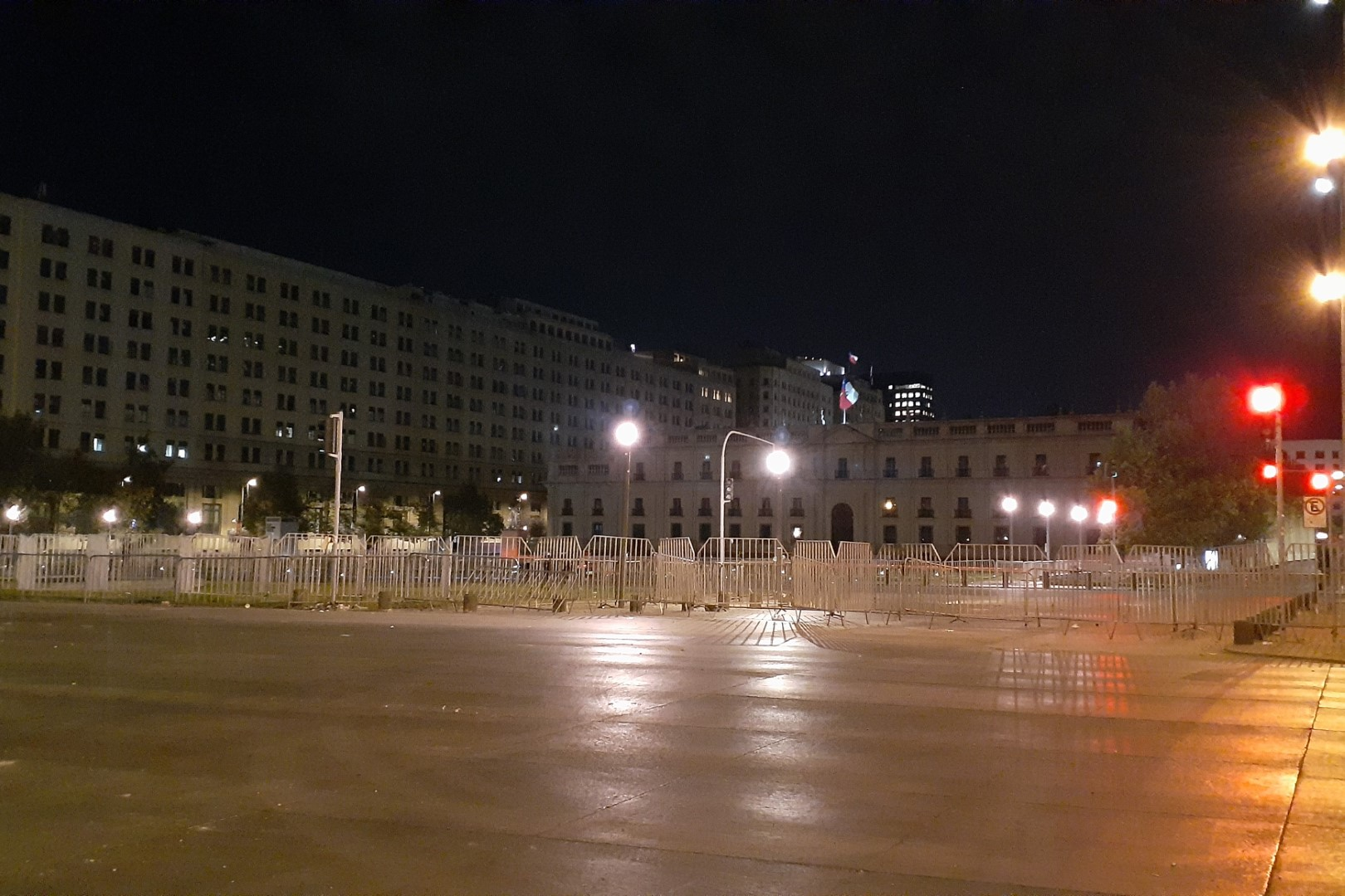 La Moneda, is the seat of the President of the Republic of Chile