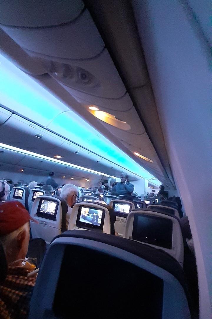 Flight AC 93 to Toronto