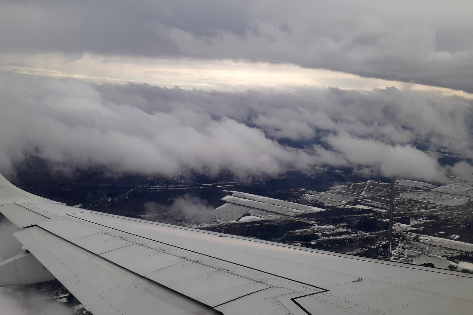 Landing in Ottawa