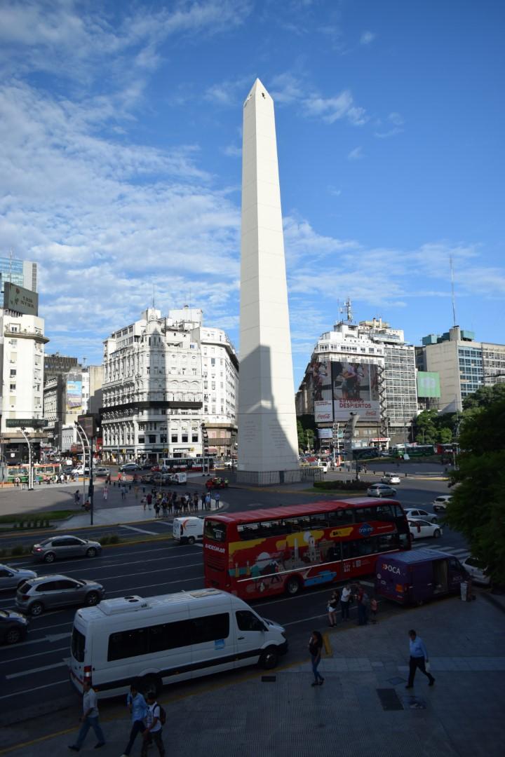 Obelisco, Avenida 9 de Julio. Buenos Aires