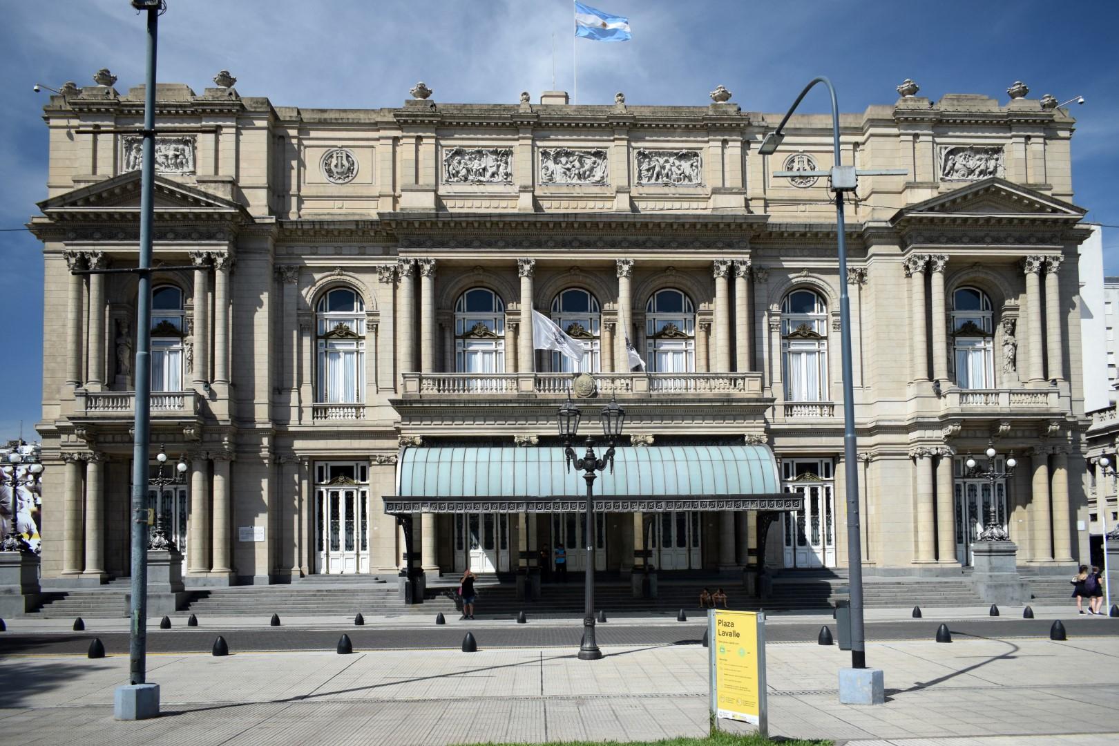 Teatro Colón, Cerrito, Buenos Aires