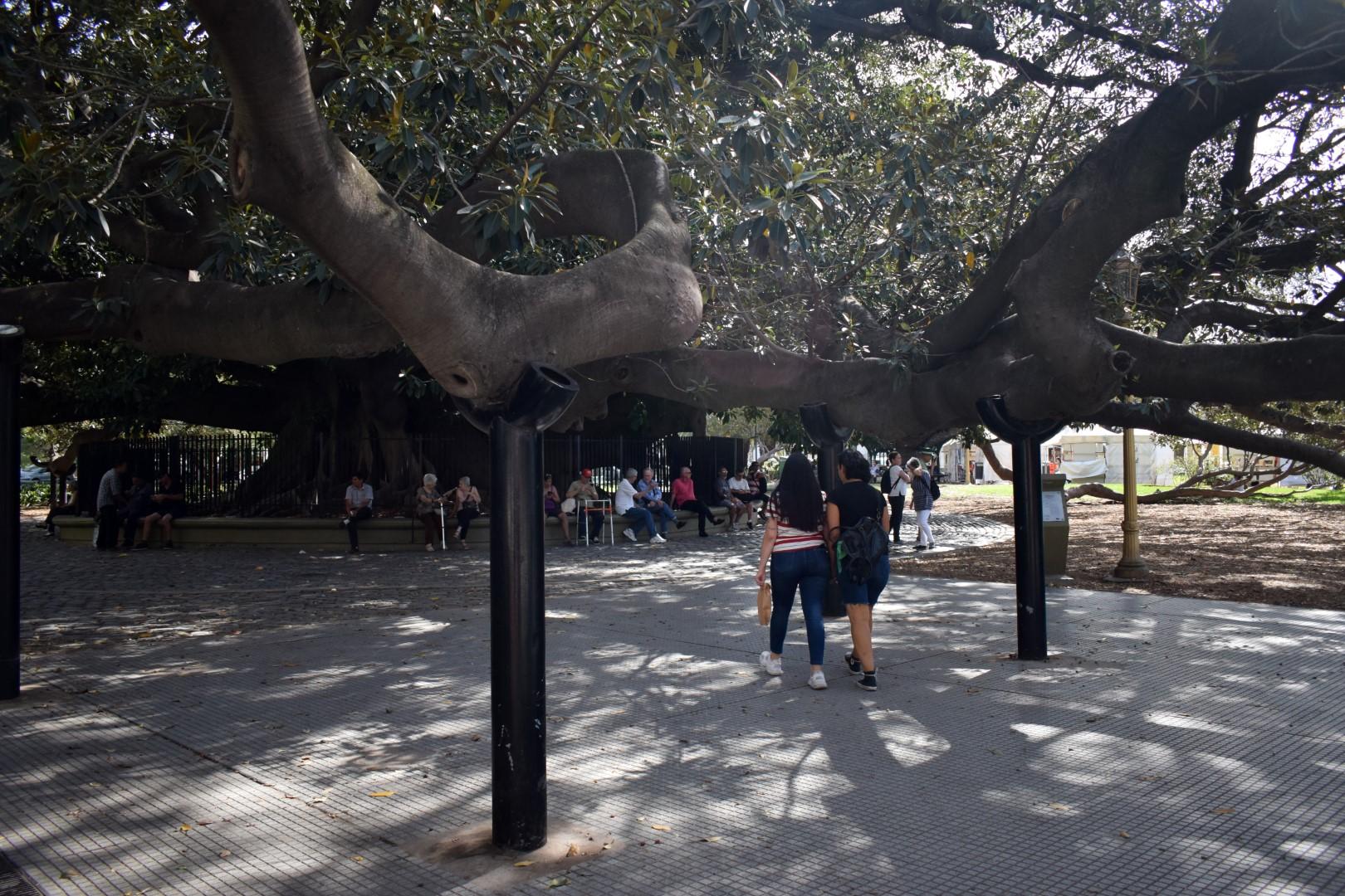 Plaza San Martín de Tours, Recoleta, Buenos Aires