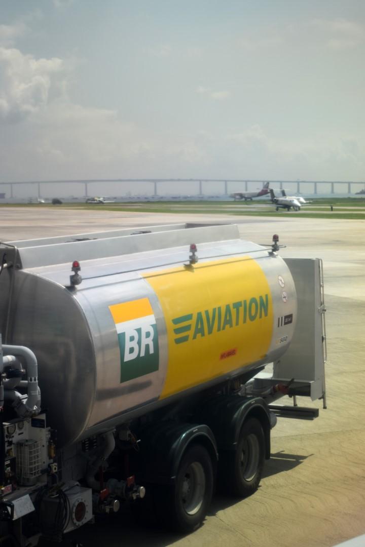 Leaving Rio de Janeiro, flight from Santos Dumont airport