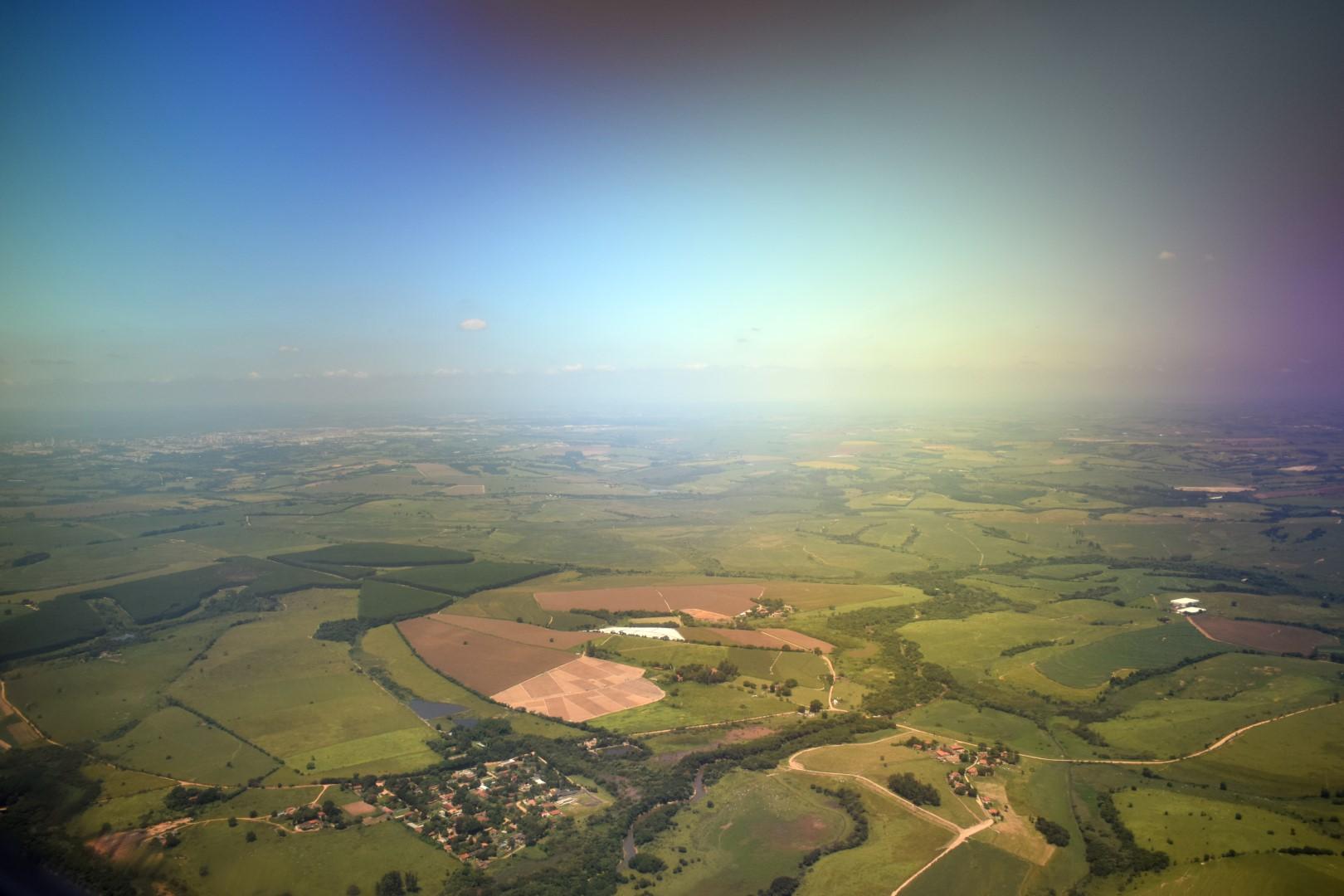 Landing in Campinas