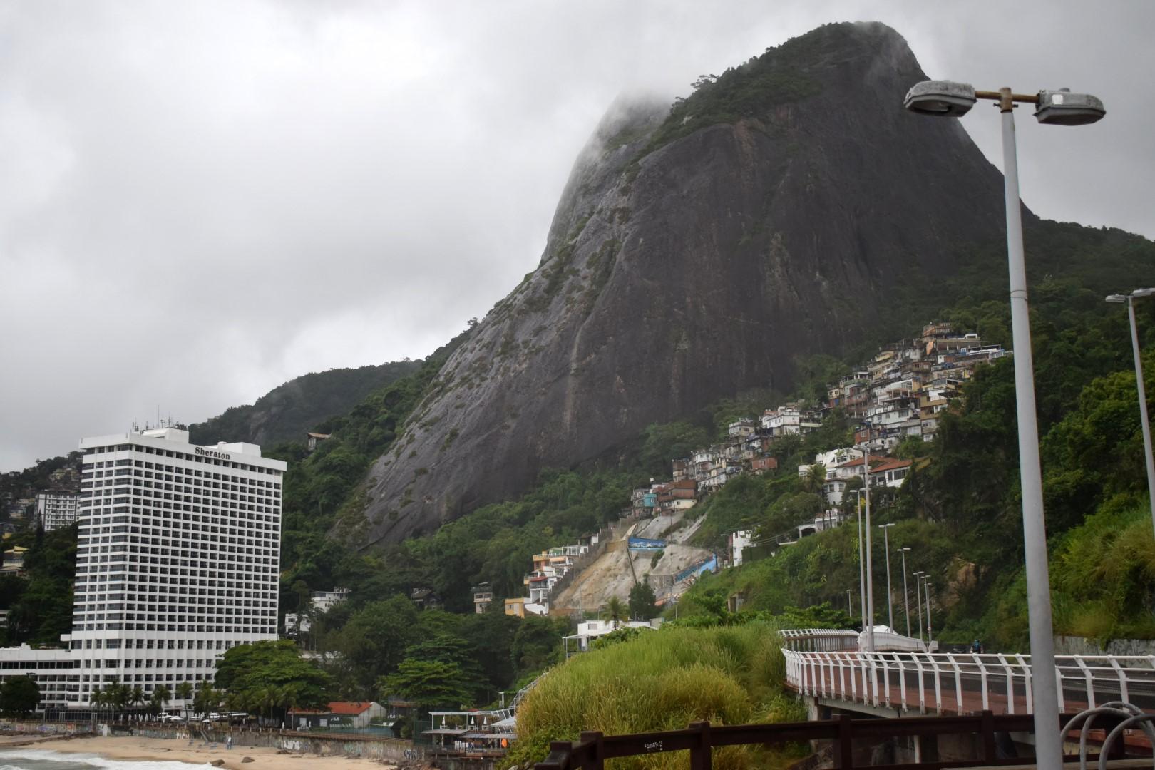 Favela Vidigal from Mirante do Leblon, Rio de Janeiro