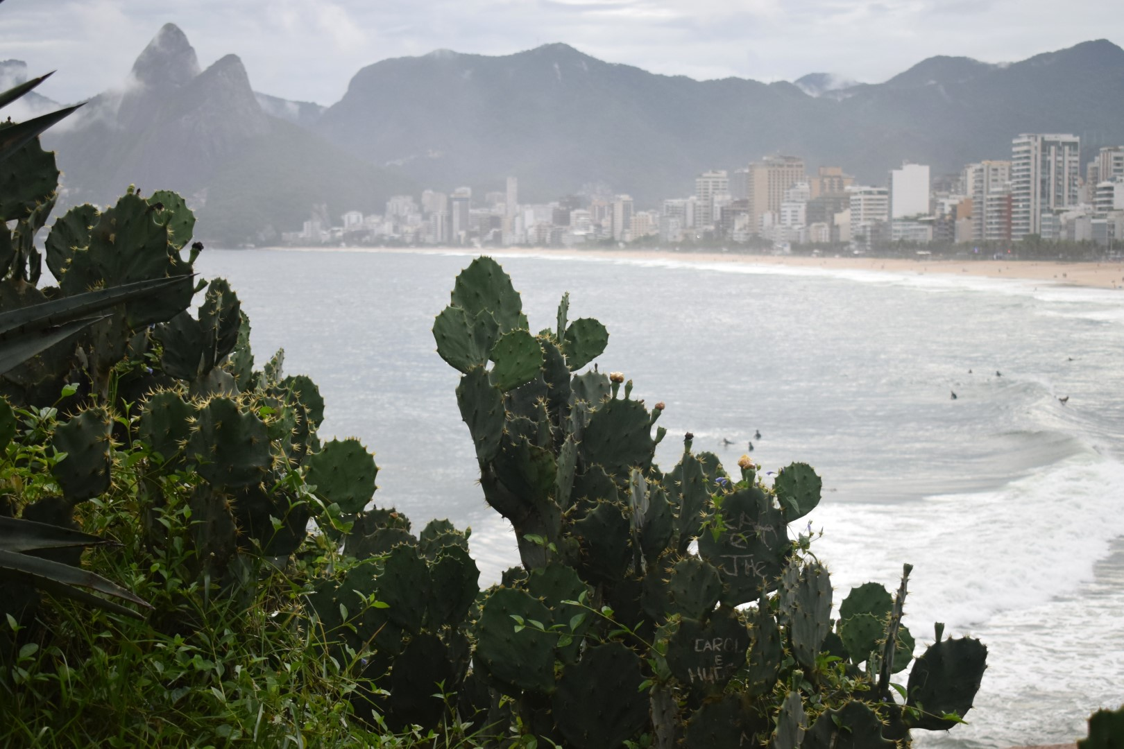 Ipanema from the Pedra do Arpoador