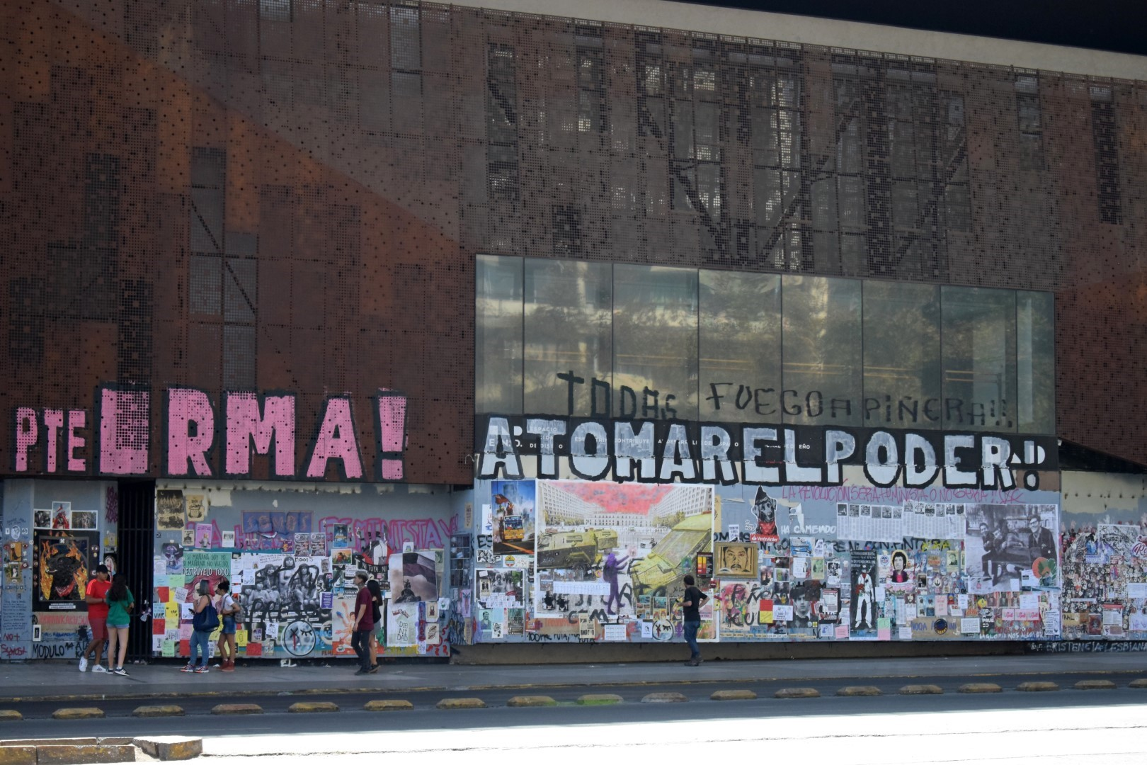 Centro Cultural Gabriela Mistral, La Alameda, Santiago