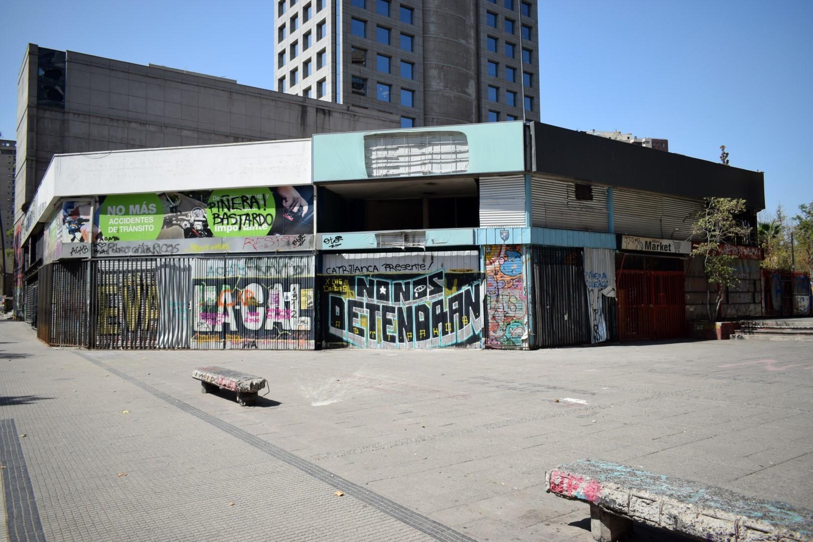Around Plaza Italia, Santiago
