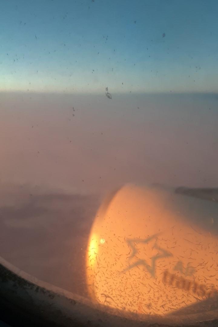 Sunrise over the Atlantic Ocean, July 2020