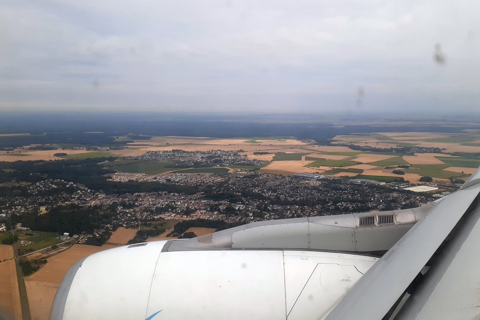 Landing in Paris