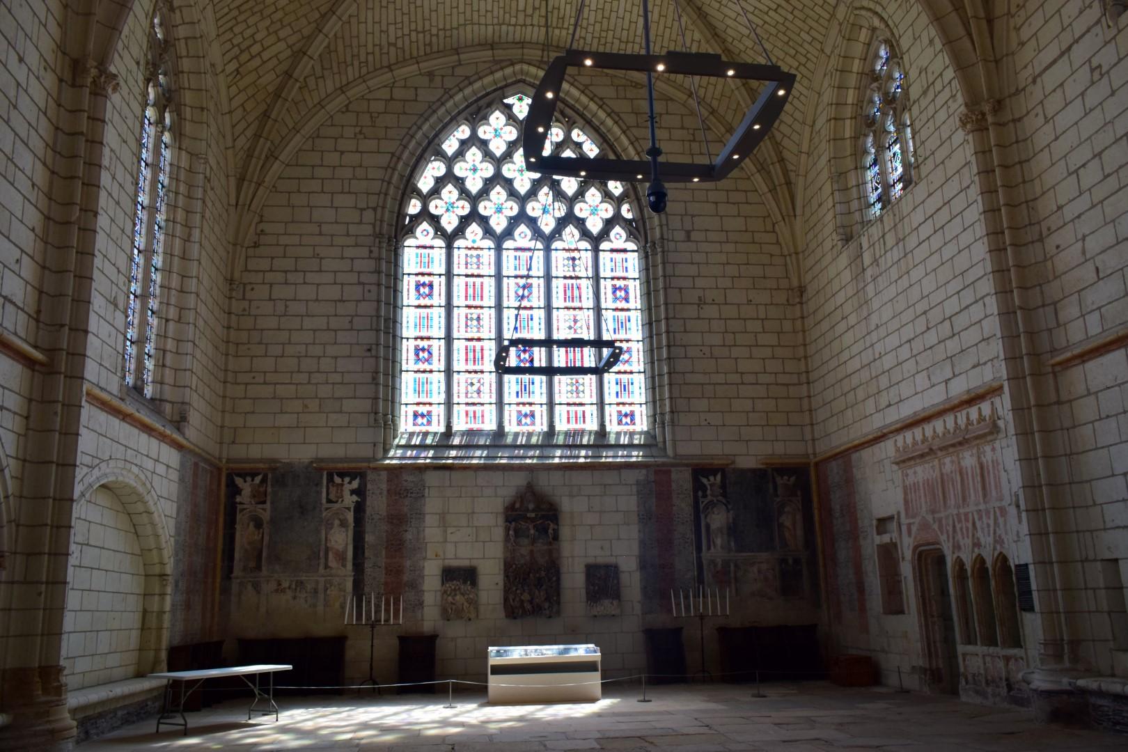 Chapelle Saint Jean-Baptiste, Château d'Angers