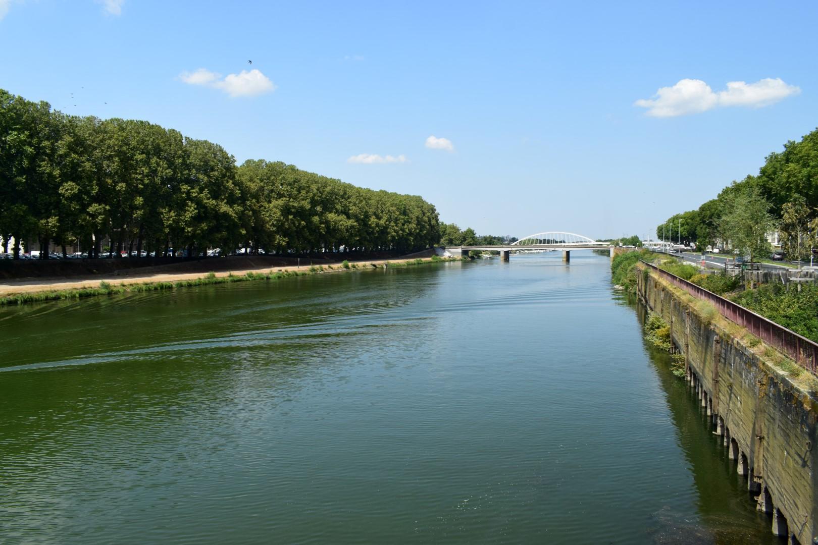 Pont de la Haute-Chaîne, Angers