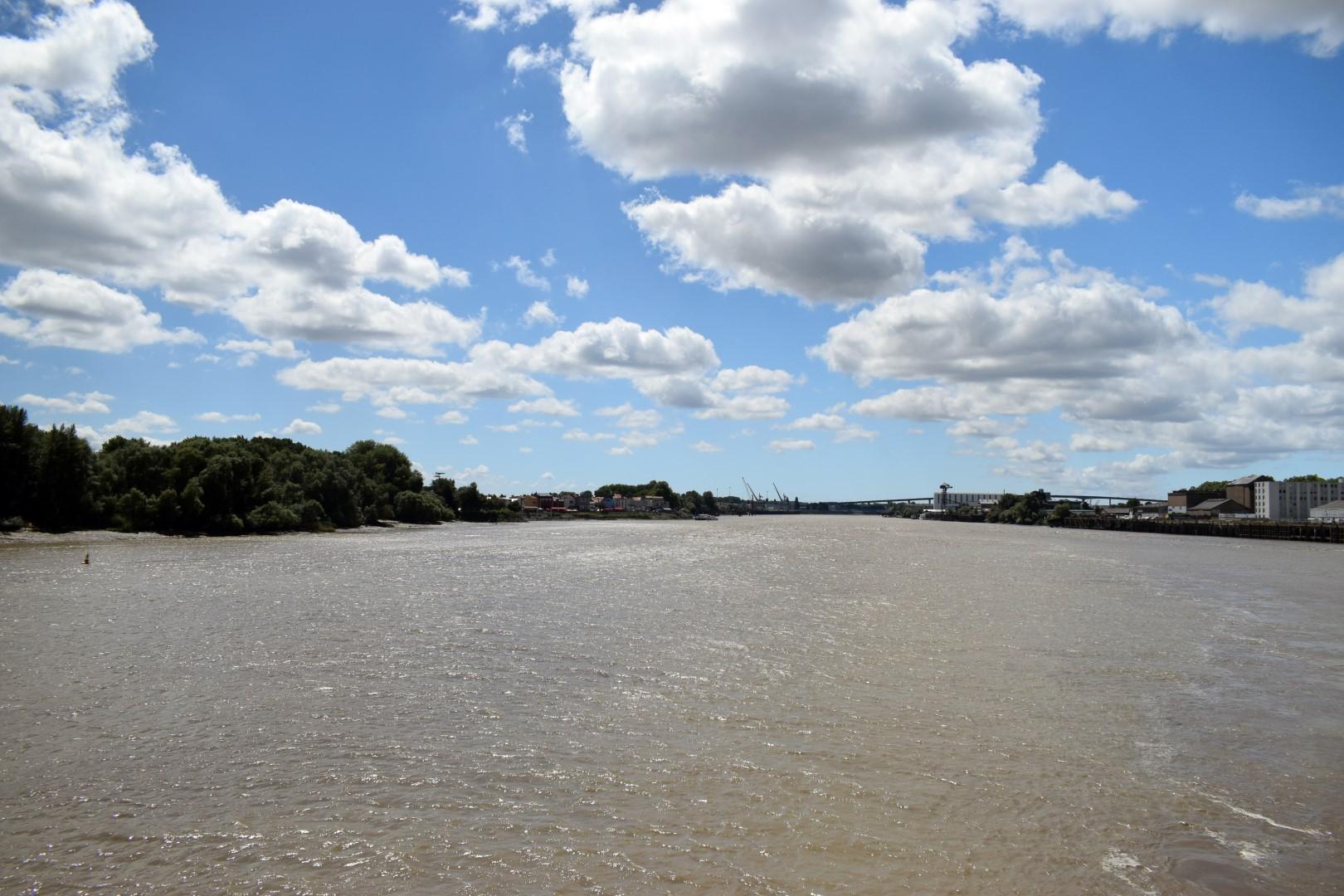 Loire River, Nantes, July 2020