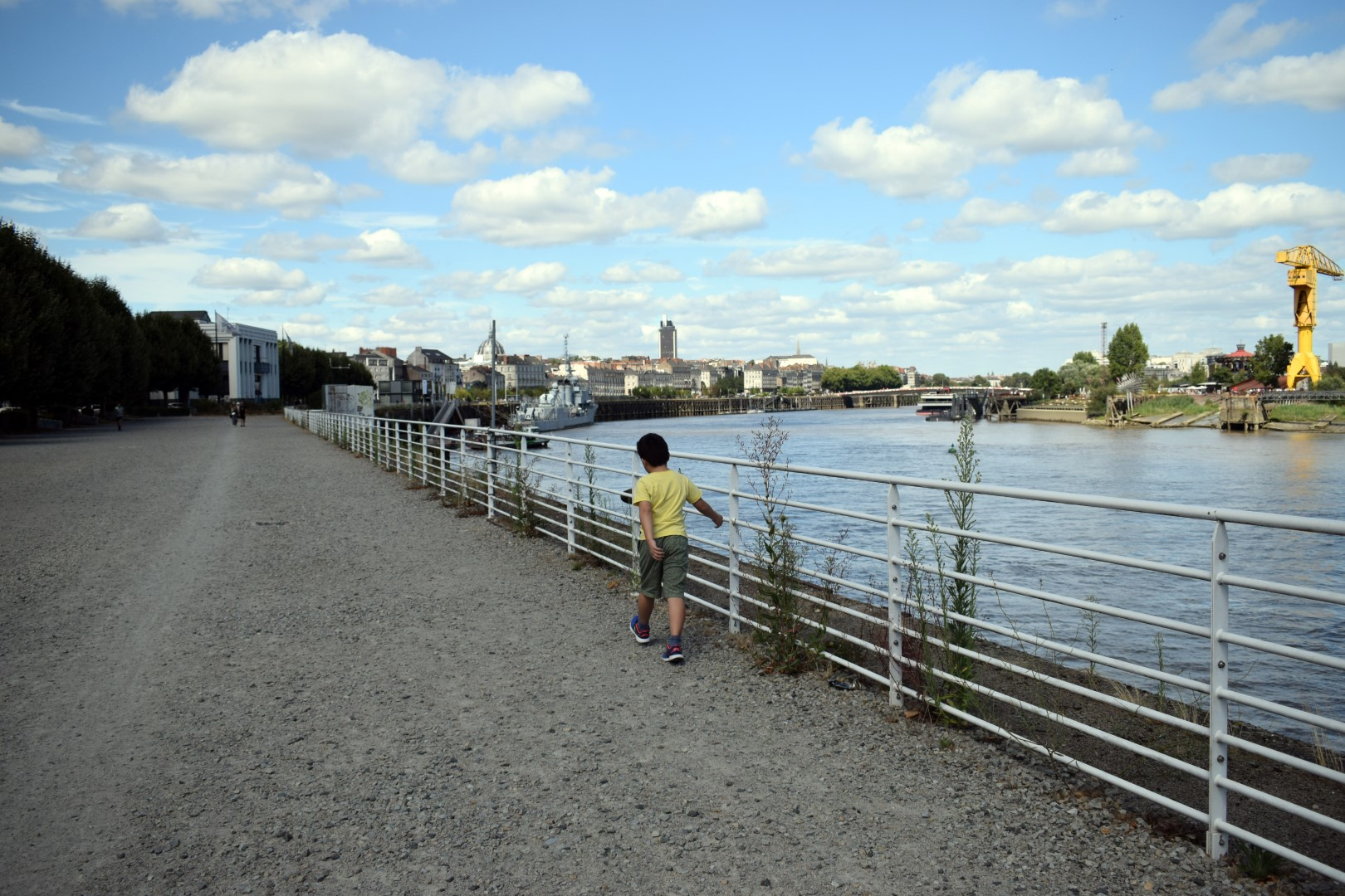 Jardin extraordinaire, Quai Marquis d'Aiguillon, Nantes, July 2020