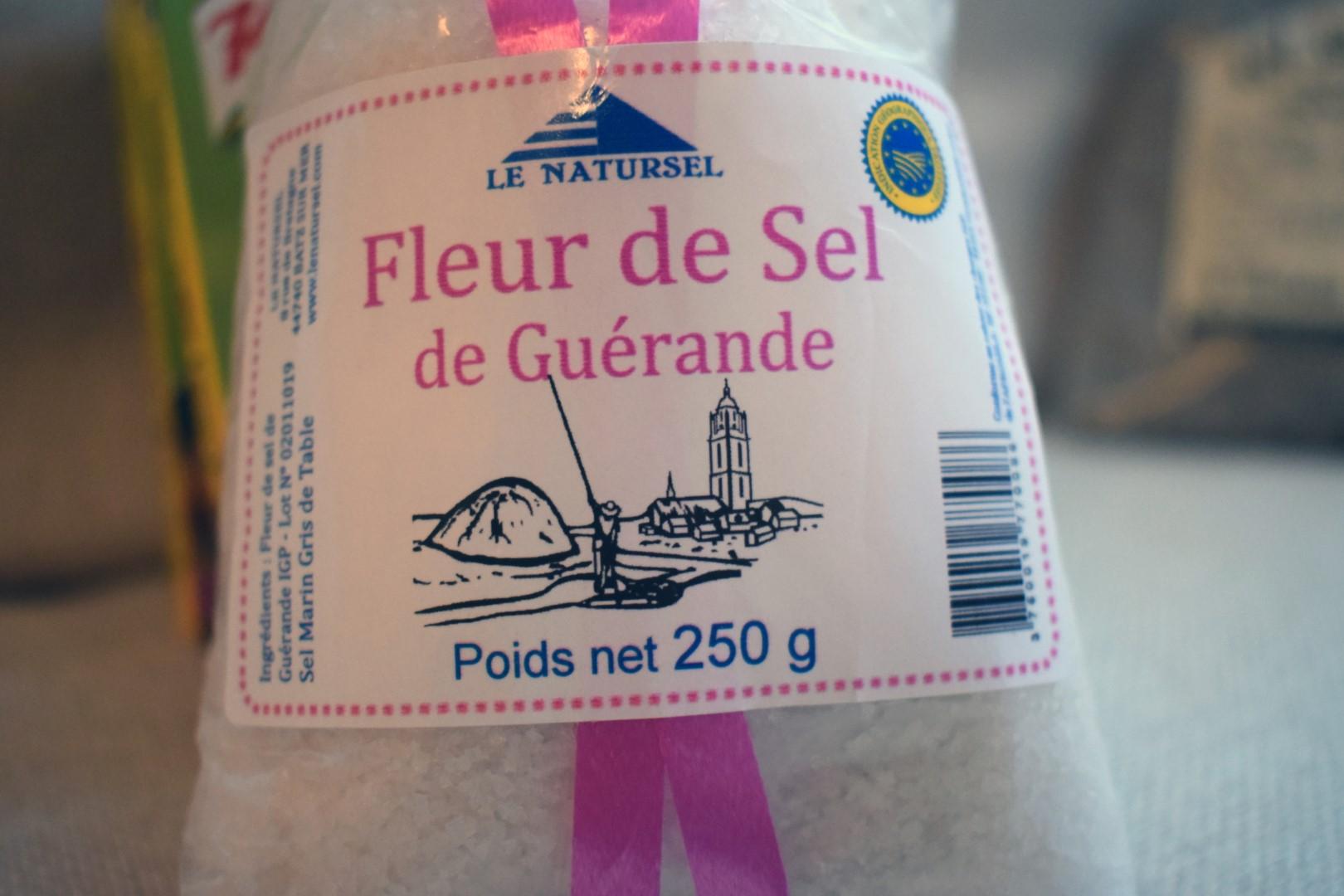 """""""Fleur de sel"""" fancy salt"""